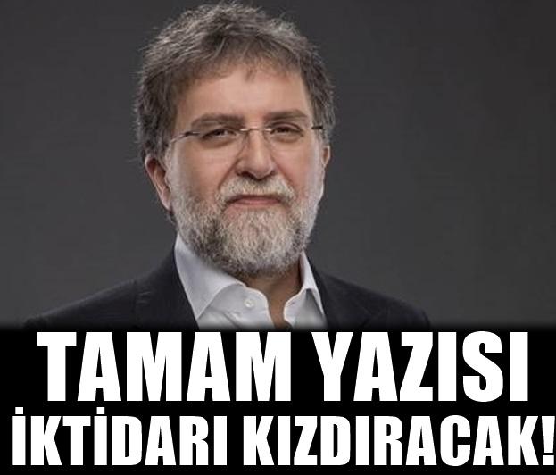Ahmet Hakan Tamamcıları hedef alan iktidara resti çekti! Ve Olay bir soru çaktı!