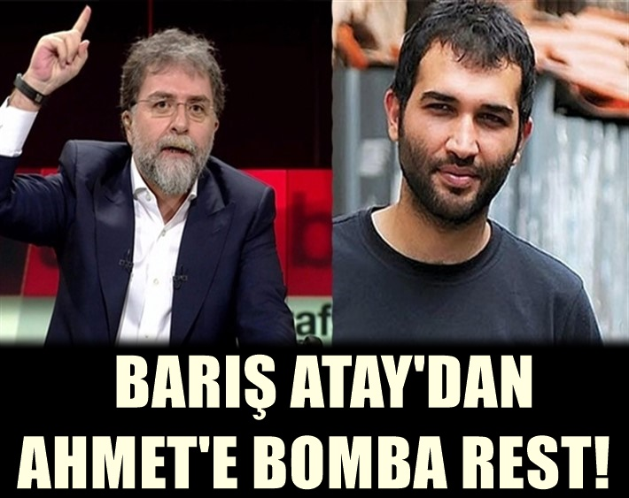 Barış Atay yine Susmadı! Ahmet Hakan'a Restiyle yine farkını gösterdi