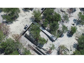 Afrin'de Hava Saldırılarına Karşı Korumalı Terörist Kampı Bulundu
