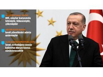 Cumhurbaşkanı Erdoğan: Filistin'de Büyük Bir İnsanlık Suçuyla Karşı Karşıyayız