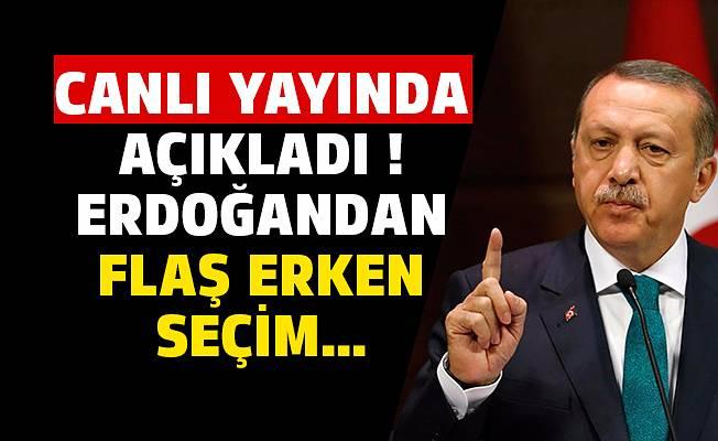 Erdoğan'dan Seçim Tahmini! Sonucu Şimdiden İlan etti