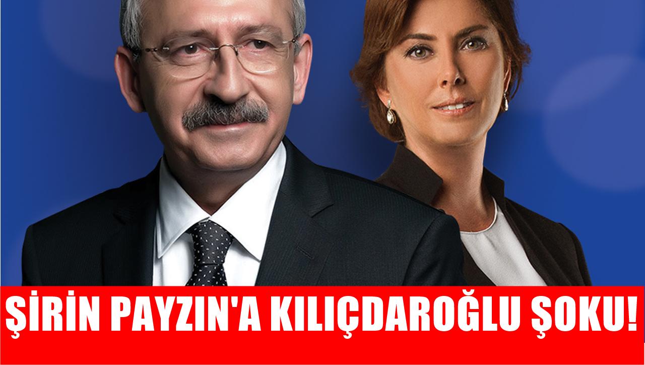 Şirin Payzın'a Kılıçdaroğlu izni! Nereye gidiyor?