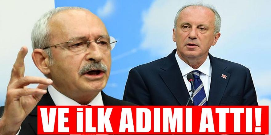 CHP yönetiminden Muharrem İnce'ye büyük şok!