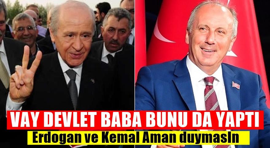 Ankara'da flaş görüşme! Bahçeli Muharrem İnce'yi arayarak..