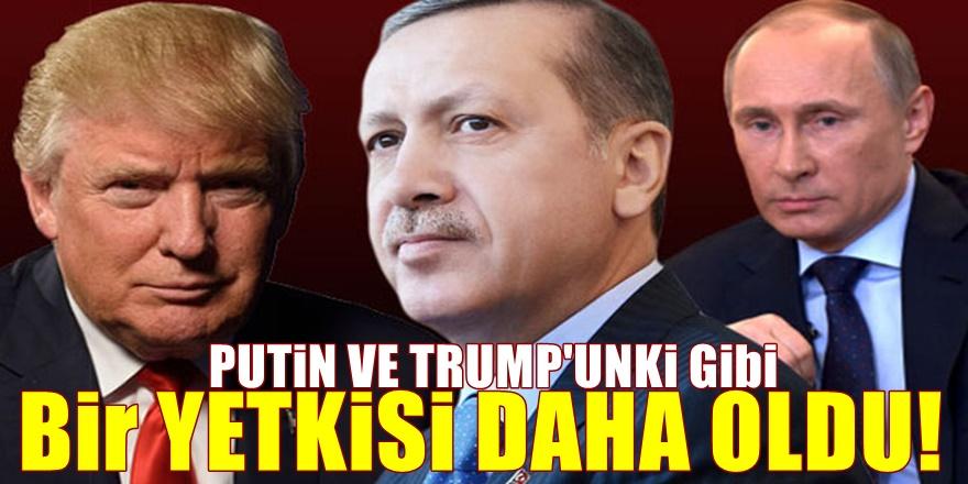 Başkanlığın ardından bir bomba daha! Erdoğan'ın da olacak