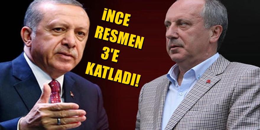 Bugün Yayınlanan Veriler Erdoğan'ı değil İnce'yi bile şok etti