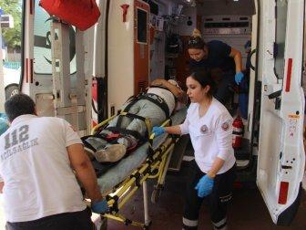 Şanlıurfa, Haliliye'de Trafik Kazası: 1 Yaralı (Erol G.)