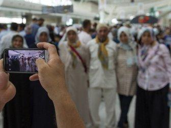 Ankara'dan İlk Hac Kafilesi Uğurlandı