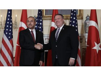 Dışişleri Bakanı Çavuşoğlu Abd'li Mevkidaşı İle Telefonda Görüştü