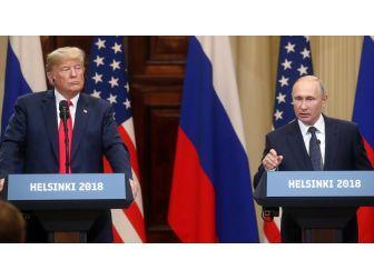 Trump, Putin İle Yaptığı Zirveyi Savundu