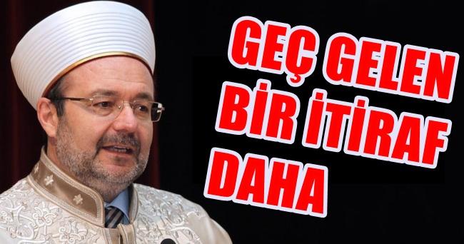 Mehmet Görmez Fethullah Gülen'e yardım eden o ismi açıkladı !