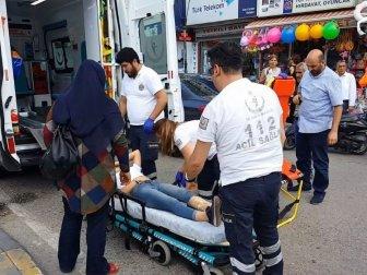 Kırıkkale'de Genç Kız Yolda Yürürken Ayağına Bıçak Saplandı
