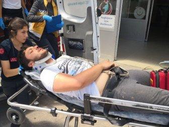 Aksaray'da Elektrik Akımına Kapılan Genç Mustafa A. Ağır Yaralandı