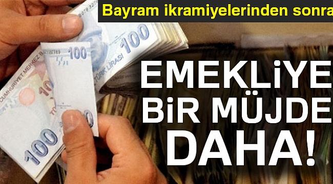 Emeklilere 4 bin 800 lira avans müjdesi