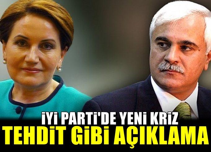 Meral Akşener'in istifasının ardından İyi Parti'de ikinci kriz