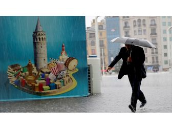İstanbul İçin Şiddetli Yağış Uyarısı
