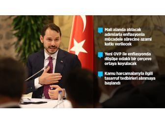 Hazine Ve Maliye Bakanı Albayrak'tan Ekonomi Mesajı