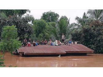 Laos'ta Baraj Çöktü, Yüzlerce Kişi Sular Altında Kaldı