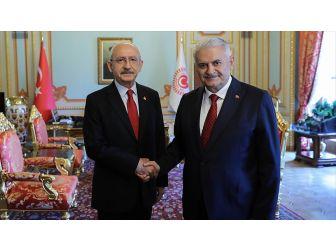 Tbmm Başkanı Yıldırım Kılıçdaroğlu'nu Kabul Etti