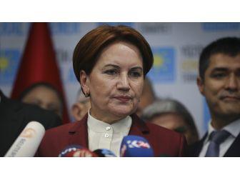 Meral Akşener'den 'Aday Olmayacağım' Açıklaması