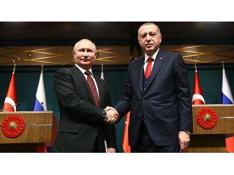 Erdoğan İle Putin Bu Yıl İkinci Kez 'Yüz Yüze' Görüşecek
