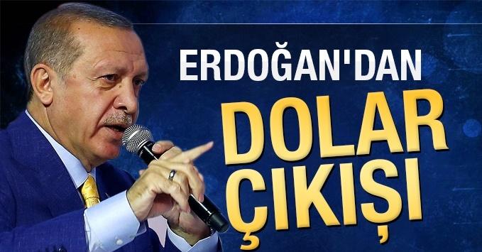 Erdoğan : MİLLETİME SESLENİYORUM DÖVİZLERİ ÇIKARTIN