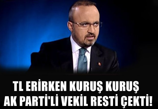 AK PARTİ'li isimden dolar yorumu: Türkiye batacak diye...