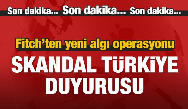 Fitch'ten uyarı: Türkiye liradaki değer kaybını hızla durdurmalı