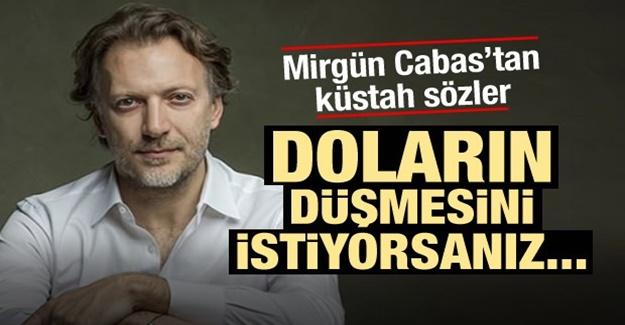 Mirgün Cabas'tan Türkiye'ye dolar tehdidi! Söyledikleri tepki çekti
