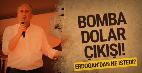 Damadınızı kovun diyen İnce Erdoğan'dan 4 Şey talep etti
