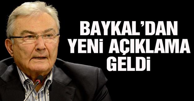 Deniz Baykal'dan Enis Berberoğlu Açıklaması!