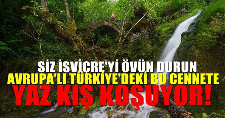 Türkiye'deki Kültür Ve Doğanın Buluştuğu 300 Yıllık Cennet :