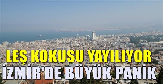 İzmir'deki KÖTÜ kokuyla ilgili açıklama geldi