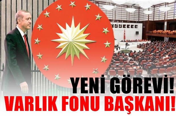 Son Dakika : Varlık Fonu'nun Yeni yönetimi : Erdoğan Başkan Müdür ise