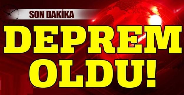 Son Dakika : Türkiye beşik gibi sallanıyor. Deprem oldu
