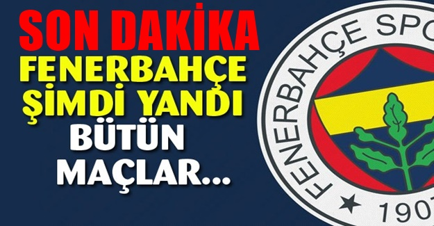 Fenerbahçe şimdi yandı! Büyük şanssızlık