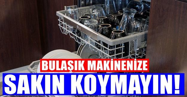 Bulaşık Makinesinde Asla yıkanmaması gereken 8 eşya