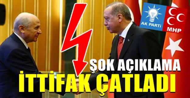 MHP'li vekilden şok açıklama : AKP'yi ilk seçimde sandığa gömelim