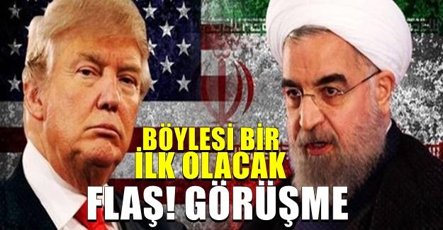 Trump Yine Dünyayı şaşırttı! İran lideriyle