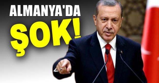 Alman basını: Erdoğan'ın paçaları tutuştu