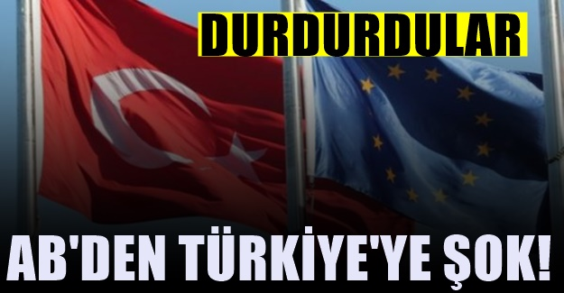 Avrupa Parlamentosu'ndan şok Türkiye kararı! İptal ettiler
