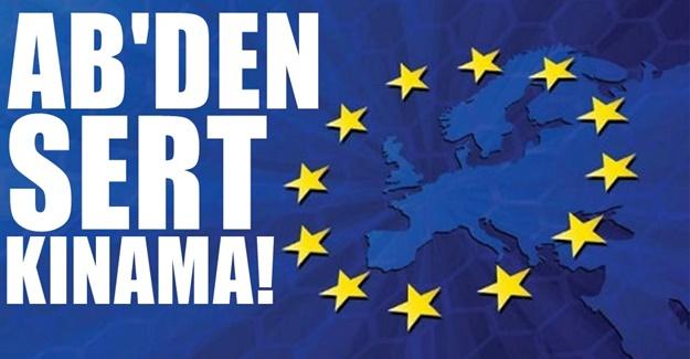 Almanya ve Avrupa Tek Ses : Çok Sert Açıklama