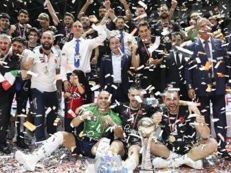 Voleybolda 2018 Spor Toto Erkekler Şampiyonlar Kupası'nı Halkbank Kazandı