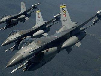 TSK ve MİT'ten Irak'ın Kuzeyindeki Avaşin-Basyan Bölgesine Hava Harekatı