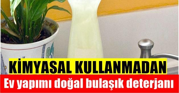 Ev yapımı doğal bulaşık deterjanı