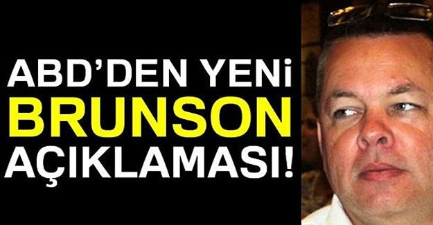 ABD'den Son Brunson mesajı: Türkiye için en iyisi...