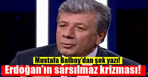 Mustafa Balbay'dan şok Erdoğan çıkışı!