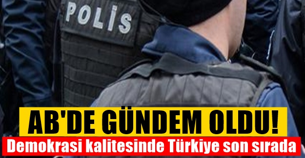 41 Ülkeyi ilgilendiren araştırmada Türkiye sondan birinci oldu!
