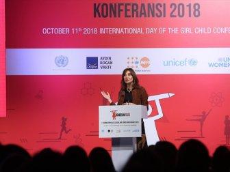 c403565405033 'Kız Çocukları Bilim, Sanat ve Sporla Güçleniyor' Temasıyla 4. Dünya Kız  Çocukları Günü Konferansı