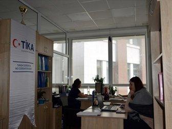 TİKA'dan Ukrayna'da Sosyal Hizmetlere Donanım Desteği